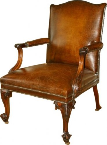 An Impressive 1760 Gainsborough Chair