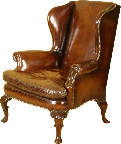 A Georgian Wing Back Chair