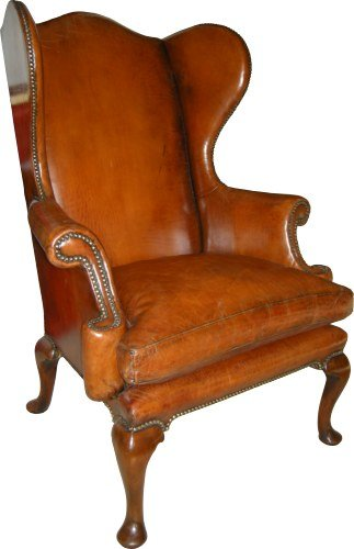 A Beautiful 1715 George 1 style Wing Back Chair