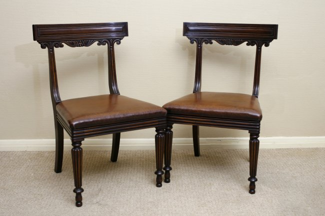 Set of Mahogany Dining Chairs