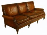 A 3 Seater Cushion Back Settee